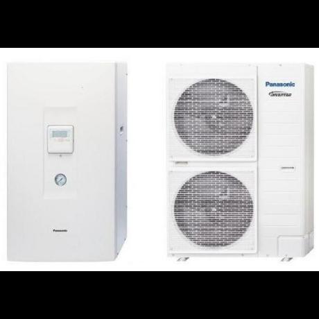 Panasonic Aquarea T-CAP 9 kW 3 fázisú osztott levegő-víz hőszivattyú (Hűtő-Fűtő) szuper csendes kültéri egységgel WH-UQ09HE8 / WH-SQC09H3E8