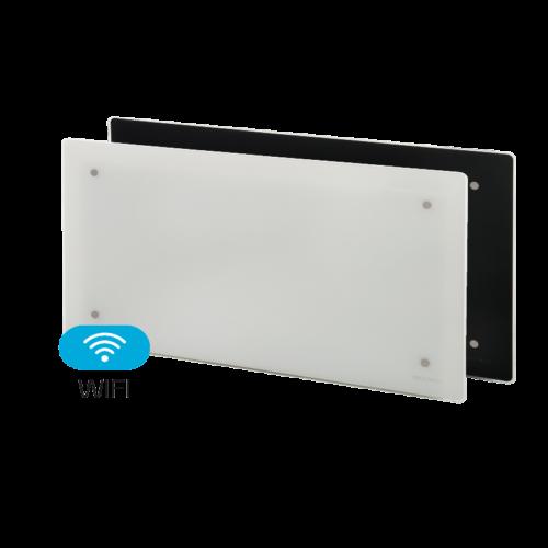 Elektromos fűtés ADAX CLEA WIFI CLW06 22 cm magas üveg felületű fűtőpanel 600W két színben