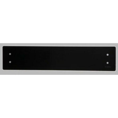 Elektromos fűtés ADAX CLEA WIFI CLW10 22 cm magas üveg felületű fűtőpanel 1000W Fekete