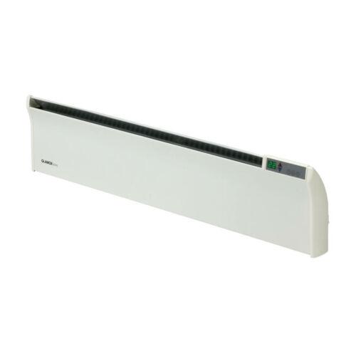Elektromos fűtés GLAMOX TLO03 18 cm magas fűtőpanel 300 W Programozható termosztáttal
