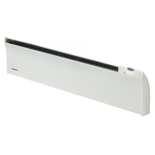 Elektromos fűtés GLAMOX TLO03 18 cm magas fűtőpanel 300 W Manuális termosztáttal