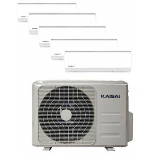 Kaisai Klíma Multi 2,6kW+2,6kW+2,6kW+2,6kW-5,2kW (öt beltéri egy kültéri)