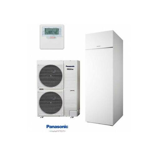 """Panasonic AQUAREA """"All in one"""" KIT-AQC09HE8 osztott kivitelű T-CAP levegő-víz hőszivattyú 3 fázisú, 200 literes HMV tartály a beltéri egységben, csendesített kültéri egység"""