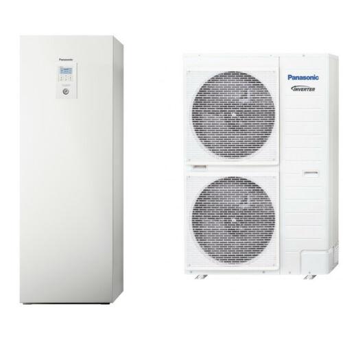 """Panasonic AQUAREA """"All in one"""" KIT-AXC16HE8 osztott kivitelű T-CAP levegő-víz hőszivattyú 3 fázisú, 200 literes HMV tartály a beltéri egységben"""