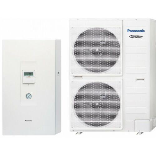Panasonic AQUAREA KIT-WHF12F9E8 osztott kivitelű HT magas hőmérsékletű előremenővel levegő-víz hőszivattyú - csak fűtős modell