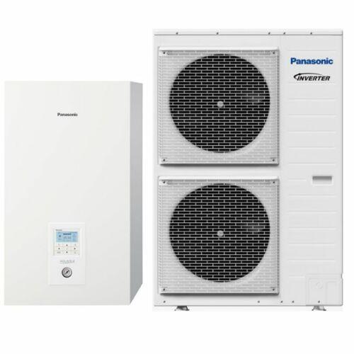 Panasonic AQUAREA KIT-WXC12H6E5 osztott kivitelű T-CAP levegő-víz hőszivattyú 1 fázisú