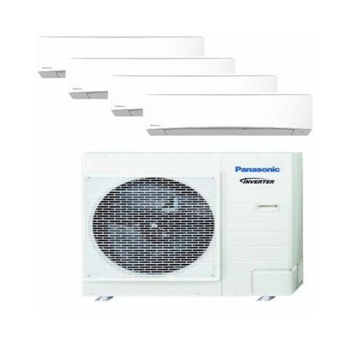 Panasonic Klíma Multi 2,0kW+2,0kW+2,0kW+2,0kW (négy beltéri egy kültéri)