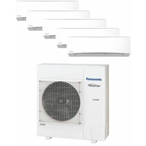 Panasonic Klíma Multi 2,0kW+2,0kW+2,0kW+2,5kW+2,5kW (öt beltéri egy kültéri)