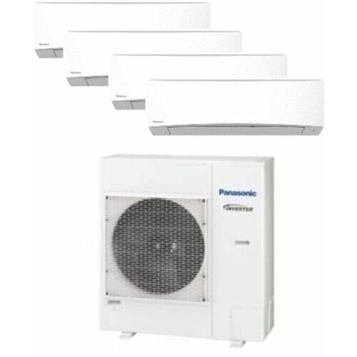 Panasonic Klíma Multi 2,0kW+2,0kW+2,5kW+2,5kW (négy beltéri egy kültéri)