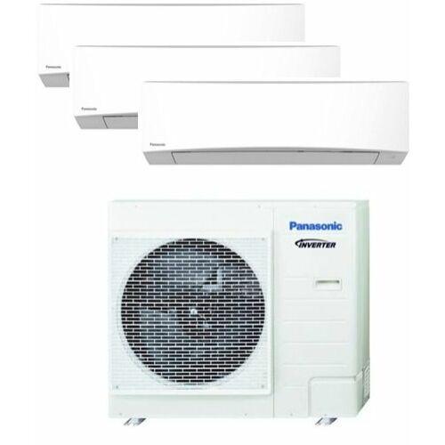 Panasonic Klíma Multi 2,0kW+2,0kW+4,2kW (három beltéri egy kültéri)