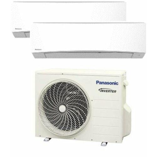 Panasonic Klíma Multi 2,0kW+2,0kW (két beltéri egy kültéri)