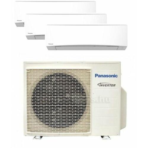 Panasonic Klíma Multi 2,0kW+2,5kW+2,5kW (három beltéri egy kültéri)