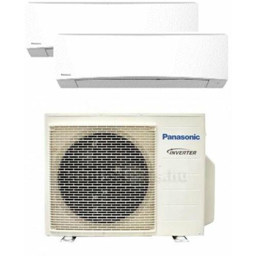Panasonic Klíma Multi 2,0kW+3,5kW (két beltéri egy kültéri)