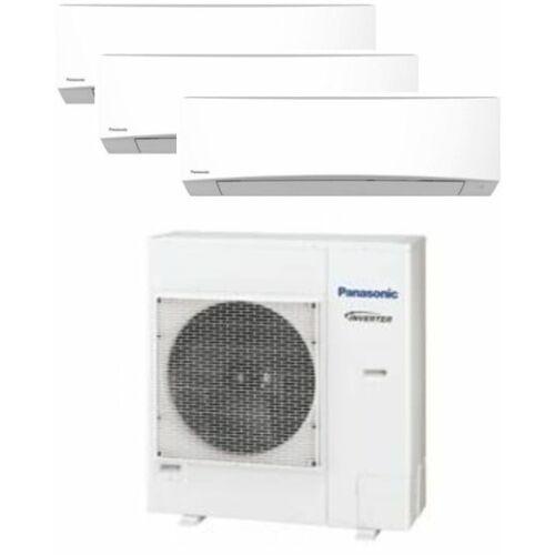 Panasonic Klíma Multi 2,5kW+2,5kW+4,2kW (három beltéri egy kültéri)