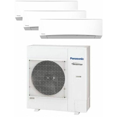 Panasonic Klíma Multi 2,5kW+2,5kW+6,0kW (három beltéri egy kültéri)