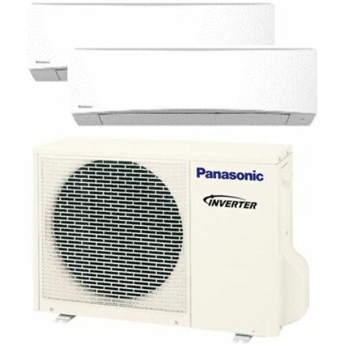 Panasonic Klíma Multi 2,5kW+5,0kW (két beltéri egy kültéri)