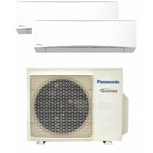 Panasonic Klíma Multi 3,5kW+3,5kW (két beltéri egy kültéri)