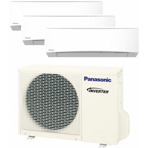 Panasonic Klíma Multi 2,0kW+2,5kW+3,5kW (három beltéri egy kültéri)