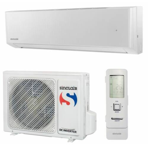 Sinclair Spectrum Plus DC Inverter ASH-09BIS2/W-SZETT 2,7  kW - Wifi alapfelszereltség - fehér
