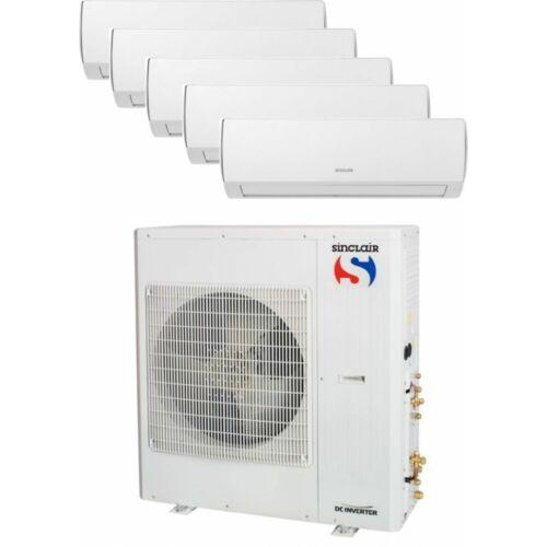 Sinclair Klíma Multi 2,1kW+2,1kW+2,1kW+5,1kW+5,1kW (öt beltéri egy kültéri)