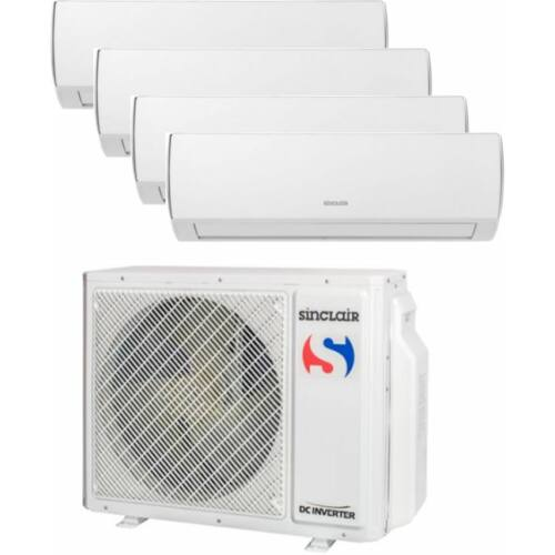 Sinclair Klíma Multi 2,1kW+2,1kW+2,6kW+2,6kW (négy beltéri egy kültéri)