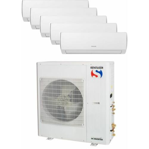 Sinclair Klíma Multi 2,1kW+2,1kW+2,6kW+3,5kW+5,1kW (öt beltéri egy kültéri)