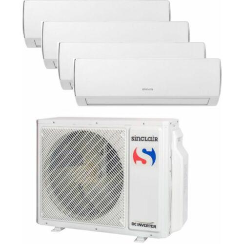 Sinclair Klíma Multi 2,1kW+2,6kW+2,6kW+2,6kW (négy beltéri egy kültéri)