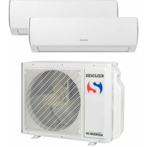 Sinclair Klíma Multi 2,6kW+5,1kW (két beltéri egy kültéri)