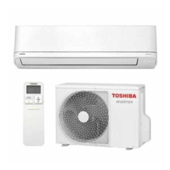 Toshiba Suzumi Plus RAS-10PKVSG-E/RAS-10PAVSG-E hűtőközeggel 2,5 kW