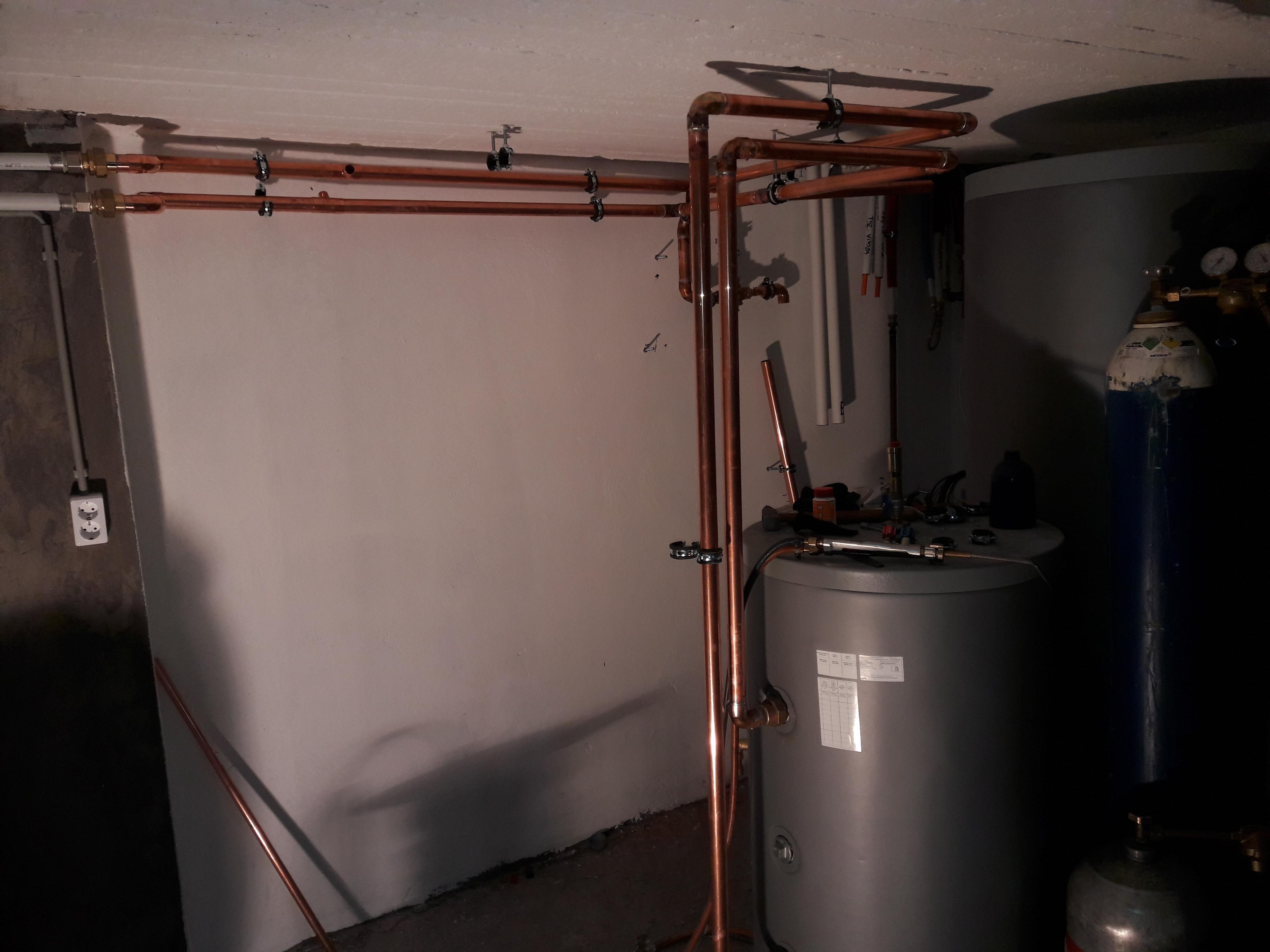 Hőszivattyú fűtésrendszer telepítése